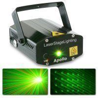 BeamZ Rood / Groen Apollo Multipoint Laser 170mW