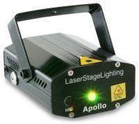 2e keus - BeamZ Rood / Groen Apollo Multipoint Laser 170mW