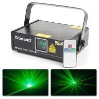 BeamZ Mimas Laser 50mW Groen met afstandsbediening en DMX