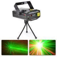 Beamz LS- FF08 Mini Laser Rood Groen met Gobo