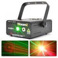 BeamZ LS-RG11 DMX rode en groene laser met 8 patronen