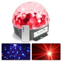 MAX Magic Jelly LED Lichteffect 6x 1W DJ Ball met MP3 speler