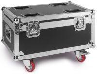 BeamZ flightcase for 4 stuks LED Twister 400 LED FAN effect