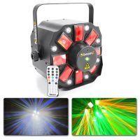 """2e keus - BeamZ """"Multi Acis III"""" LED lichteffect met Laser en Stroboscoop"""