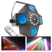 BeamZ LED Multitrix met laser en stroboscoop 3-in-1 effect