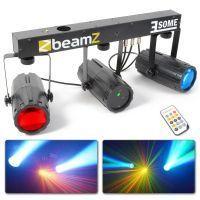 BeamZ 3-Some Lichtset met 2x 57 RGBW LED's met R/G laser