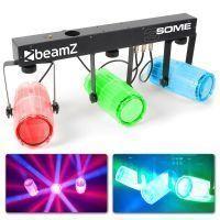 BeamZ 3-Some Lichtset 3x 57 RGBW LED's - Transparant