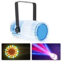 2e keus - BeamZ LED Moonflower met 57 RGBAW LED's - Transparant
