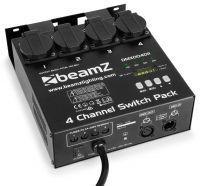 BeamZ DMX004DII DMX Controller 4 Kanaals switchpack