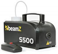 BeamZ Compacte kunststof Rookmachine S500 met gratis rookvloeistof