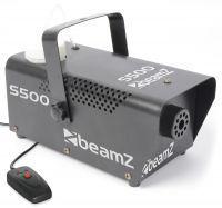 BeamZ Compacte metalen Rookmachine S500 met gratis rookvloeistof