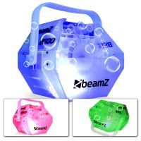 BeamZ B500LED Bellenblaasmachine transparant met LED's