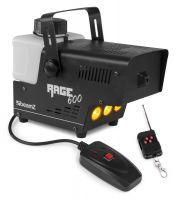 BeamZ RAGE600LED rookmachine 'Flame' 600W met draadloze afstandsbediening