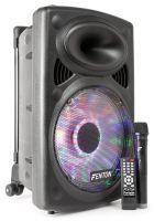 Fenton FPS12 Mobiele geluidsinstallatie met bluetooth en draadloze microfoon Lichteffect