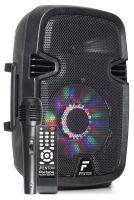 """Fenton FT8LED karaoke speaker 300W 8"""" met LED lichteffecten"""