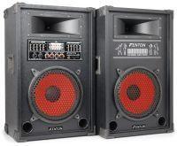 """Fenton SPA-1000 Actieve PA Karaoke Luidspreker Set 10"""" 800W met USB MP3"""