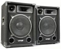 """MAX Disco Speakerset MAX10 500W 10"""""""