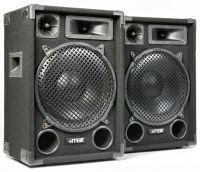 MAX MAX12 1400W Disco Speakerset 12