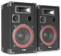 """MAX XEN-3508 set PA luidspreker boxen 8"""" 500W"""