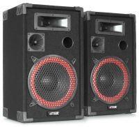 """MAX XEN-3512 set PA luidspreker boxen 12"""" 1000W"""
