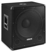 "Vonyx SMWBA18MP3 actieve 18"" subwoofer met Bluetooth - 1000W"