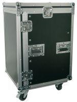 """Power Dynamics PD-F12U8 19"""" Flightcase Rack met zwenkwielen 12HE + 8HE"""