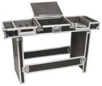 "Power Dynamics universele 19"" flightcase voor 8U mixer & 2 CD spelers"