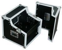 "Power Dynamics PD-F4U 19"" DJ Flightcase 6HE + 2HE"