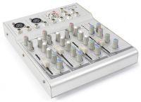 SkyTec STL-4 DJ Muziekmixer 4-kanaals