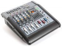 SkyTec STL-6 Mengpaneel mixer 6-kanaals met 600W versterker