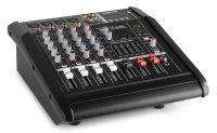 Vonyx AM5A 5-kanaals muziekmixer met ingebouwde 1000W versterker