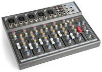 Vonyx VMM-F701 7 kanaals muziekmixer met effect en USB speler