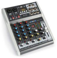 Vonyx VMM-K402 4 kanaals muziekmixer met Bluetooth en effecten