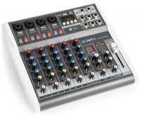 Vonyx VMM-K602 6 kanaals muziekmixer met Bluetooth en effecten