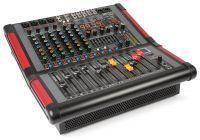 Power Dynamics PDM-S804A 8 kanaals mengpaneel met ingebouwde versterker