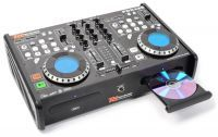 2e keus - Power Dynamics PDX125 dubbele CD/USB/CD/MP3 speler en mixer