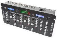 2e keus - SkyTec STM-3010 4 Kanaals DJ mengpaneel met 2 x USB