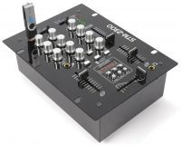 2e keus - SkyTec STM-2300 Mixer 2-Kanaals / USB MP3
