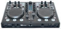 Power Dynamics PDC-07 DJ controller USB met geluidskaart & Virtual DJ Software