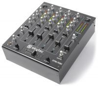 SkyTec STM-7010 Mixer 4-Kanaals DJ Mixer met USB