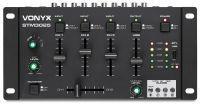 Vonyx STM3025B mixer 4-kanaals met Bluetooth en USB mp3 speler