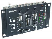 2e keus - SkyTec STM-2211B 4-Kanaals mengpaneel - Zwart