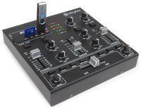 SkyTec STM-2250 4 Kanaals Mengpaneel met usb en MP3 aansluiting
