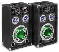 SkyTec KA-08 actieve speakers 600W USB LED