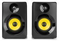 Vonyx SMN40B actieve studio monitor speakers 100W - Zwart