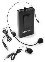 Vonyx BP10 bodypack met headset voor Vonyx UHF systemen - 863.100 MHz