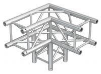 BeamZ Truss P30-C30 vierkante truss 90° 3-weg hoek