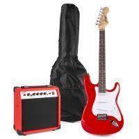 Johnny Brook JB404 elektrische gitaar starterset met o.a. 20W versterker - Rood