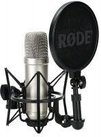 Rode NT1-A studiomicrofoon voor vocale en/of instrumentale opnames in studiokwalteit