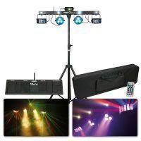 ShowTec Multi FX compacte licht set met laser